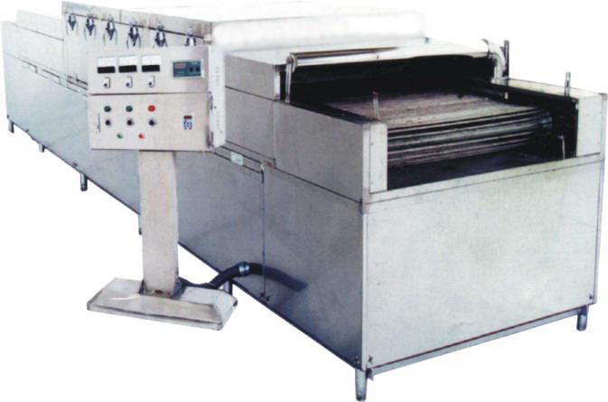 新型除渣清洗消毒烘干一体机